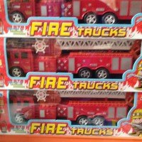Mainan mobil pemadam kebakaran fire truck