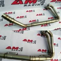 Leher Knalpot Header Stainles Yamaha New R25 R 25 MT25 Abs Las Cacing