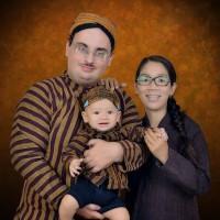 Surjan Lurik Set Keluarga Bapak Ibu Anak Kostum tedak siten tradisonal