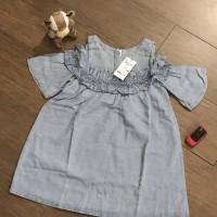 dress jeans anak model sabrina - lightblue