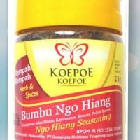 Bumbu Ngo Hiang koepoe, ngohiang, ngo hiong, gohiong 23gram