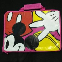 TAS LAPTOP MICKEY MOUSE PINK PRELOVED