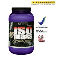 Iso Mass Xtreme Gainer Ultimate Nutrition 3.5Lbs Coklat