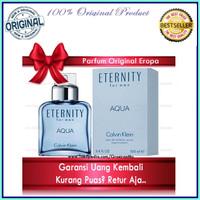 Original Parfume CK Calvin Klein Eternity Summer Parfum Pria Ori Eropa