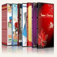 Paket 12 DVD Design Kumpulan Koleksi Desain Undangan+Aneka Ornament