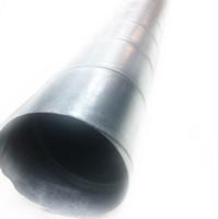"Spiral Duct / Round Ducting BJLS 4"" (10 cm) - per 4m, 0.6 mm"