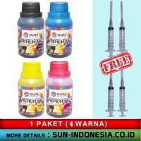 TINTA SUN PREMIUM INK NFI 100 ml (EPSON - 1 Set 4 Colour)