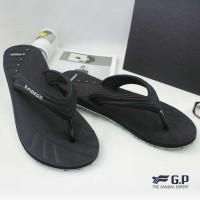Sandal Jepit Lightweight Pria Black (G7557M-10) Anti Slip Premium ORI