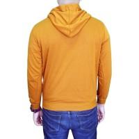 Gudang Fashion - Jaket Pria Fleece - Kuning Kenari