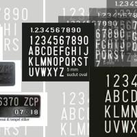 stiker plat nomor motor