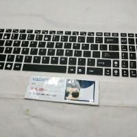 Asus Laptop Keyboard Protector Cover Pelindung GL502 GL552 GL702 GL752 - Transparan