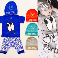 Termurah  Setelan Baby SeeYou 1-2thn Baju Anak Murah Baju Tidur Anak A