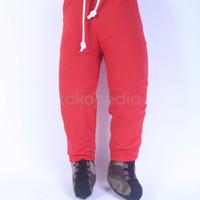 Diskon Celana Jogger Anak Denim Strech Size S 1-2thn