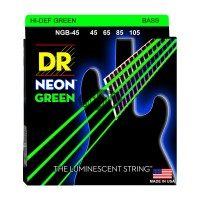 Senar Bass DR Strings, K3 Neon Hi-Def Green Bass, NGB-45 (45-105)