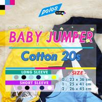 Baby Jumper / Baju Kodok Bayi / Jumper Bayi Polos Cotton 20s