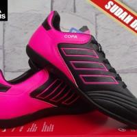 Sepatu Futsal Adidas Copa Mundial 2.0 Hitam Pink KW Super
