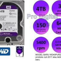 WD Purple 4TB / Internal HDD / CCTV HDD / 3 year warranty