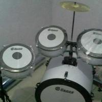 Drum Mini Anak Full Set Free Stick Drum