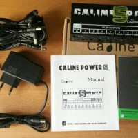 Caline CP-05 Power Supply Efek Gitar Stompbox 10 Chanel Output 9v 12v