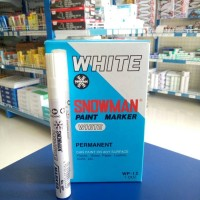 Spidol Paint Marker White (Besar)