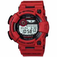 Jam Tangan Pria Cowok Casio G-Shock G Shock GShock FROGMAN RED Ori BM