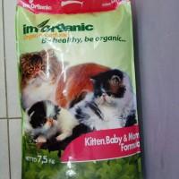 IM ORGANIC KITTEN BABY MOM - IMO KBM 7.5KG -MAKANAN ANAK KUCING
