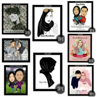 Karikatur, Sketch, Siluet, Vektor, dan Mosaik