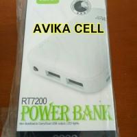 POWER BANK ROBOT 6600MAH RT7200