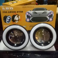 fog lamp angel eyes ring depan 7warna khusus avanza new/vvti/old