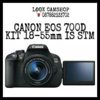 KAMERA DSLR CANON EOS 700D 700 D KIT 18-55mm IS STM