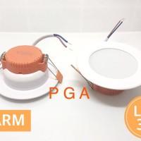 Lampu Downlight 3 W Kuning / WARM
