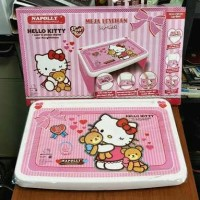 Meja Belajar Anak lipat Napolly karakter Hello Kitty Termurah