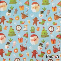 Kertas kado natal kode Natal B