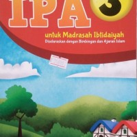 Buku Pelajaran IPA Kelas 3 SD / MI At Tuqa