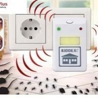Riddex Plus Pengusir Nyamuk Kecoak Tikus Ultrasonic Rep Murah