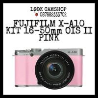 FUJIFILM X-A10 XA 10 FUJI XA10 KIT 16-50mm OIS II - PINK