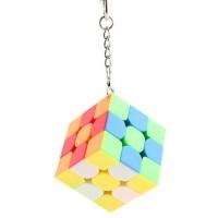 Rubik 3x3 Moyu MF Keychain 40mm 3x3 stickerless
