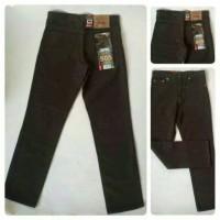 Celana Jeans Jumbo Size 39-44 Coklat