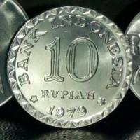 Uang kuno 10 Rupiah tahun 1979 - mahar, Koleksi