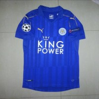 JERSEY LEICESTER CITY HOME 16/17 FULLPATCH UCL