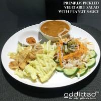 Asinan Sayur Ala Betawi Bumbu Kacang Premium Vegetable Salad Peanut