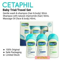 akUPerlu CETAPHIL Baby Wash Shampoo Massage Oil 40ml 40 ML 50ml 50 ML