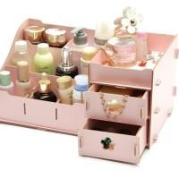 Rak kosmetik Kayu  04 BIG SIZE Cosmetic Storage Station Limited