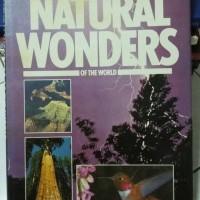 Buku Foto Natural Wonder of the world