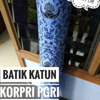 kain batik katun korpri pgri pns guru