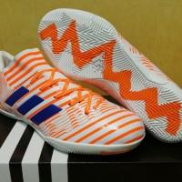 Sepatu Futsal Adidas Nemeziz 17.3 AGILITY BANDAGE White Mystery Ink