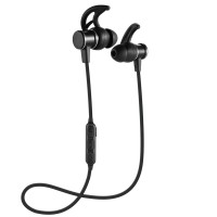 Headset Bluetooth Sports Handsfree Earphone Metal Solid Magnet SLS 10