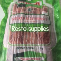 AROMA beef bacon (smoked beef brisket) 1 kg
