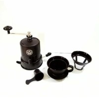 Star Cam Destec Manual Coffee Grinder - Alat Giling Biji Kopi Starcam