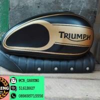 Paket Japstyle Triumph - Tangki & Jok